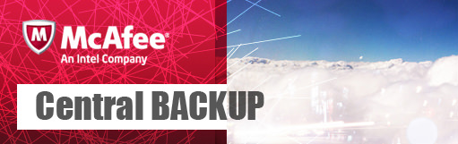 McAfee Central Backup