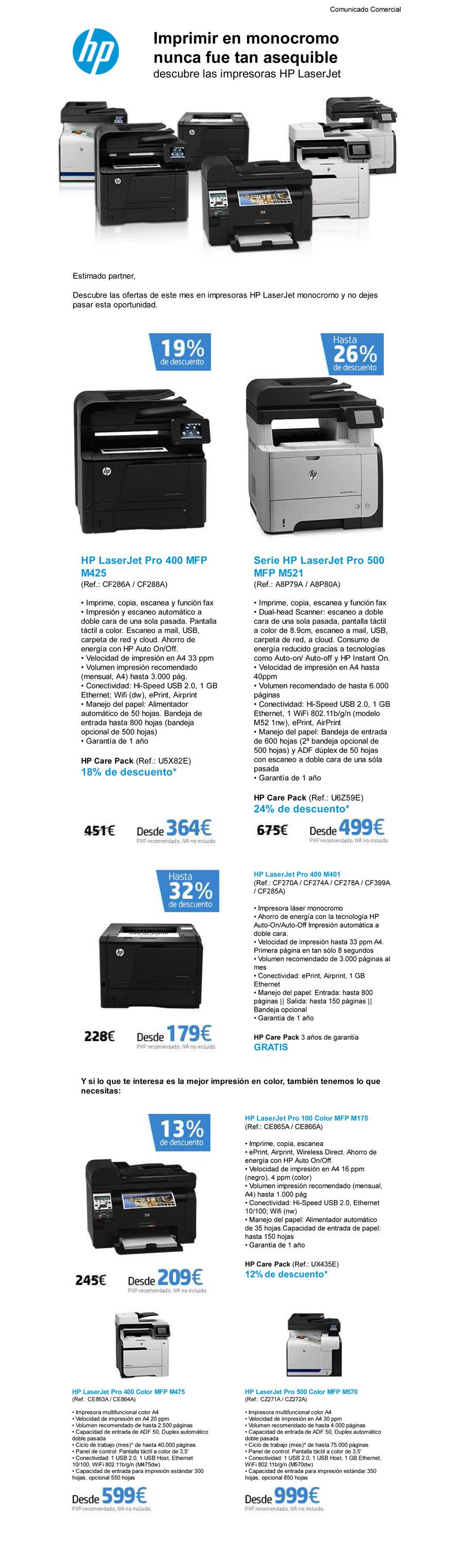 HP eCommunication Tool - Imprimir en monocromo nunca fue tan ase