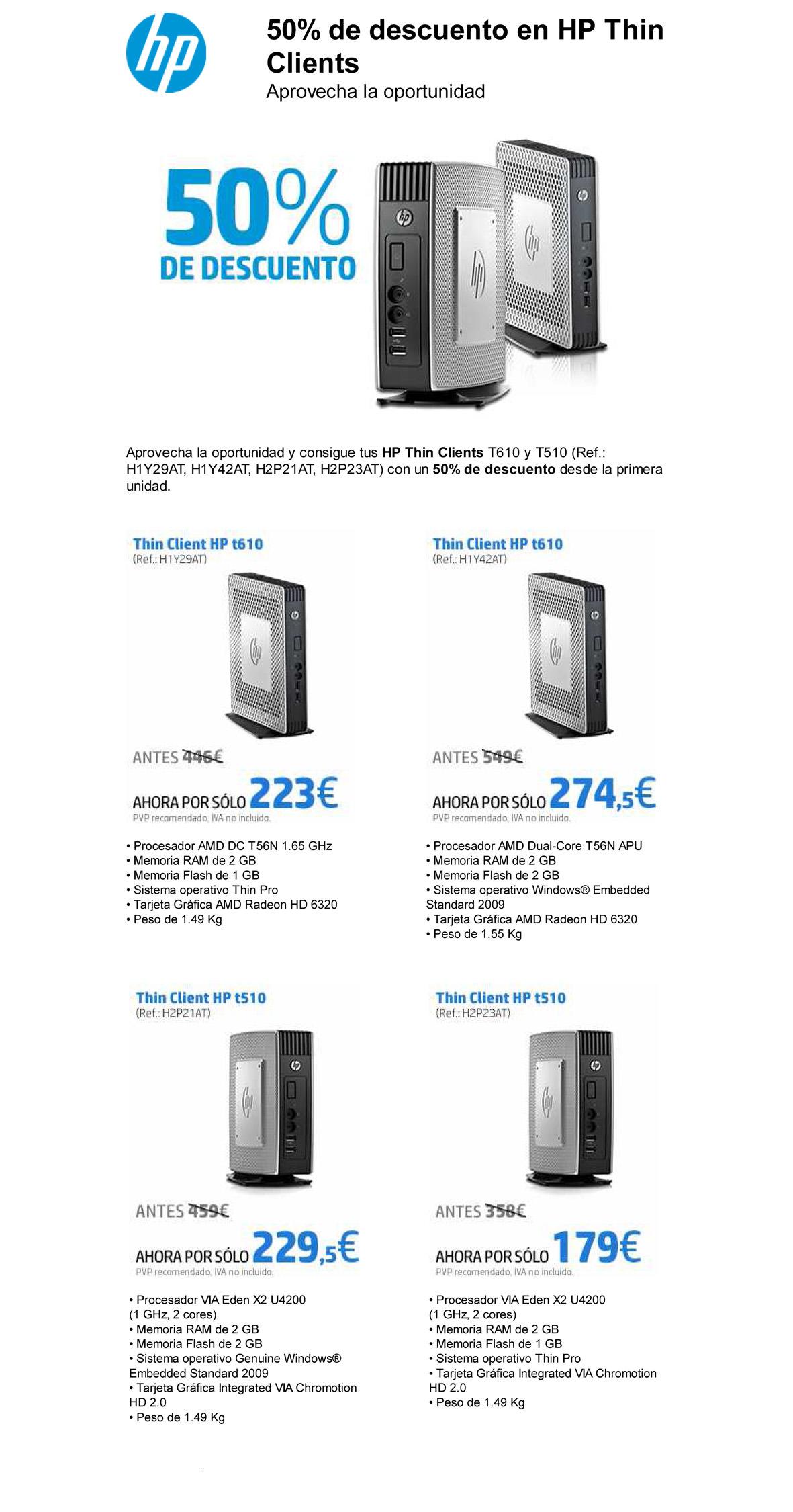 HP eCommunication Tool - Ahora, y hasta fin de existencias, tu T