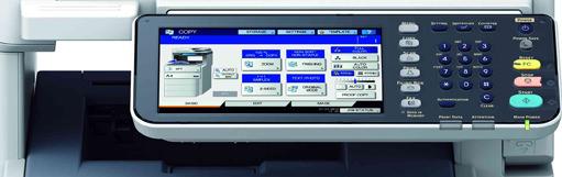 Multifunció professional OKI MB700 amb finalitzador i grapadora