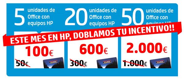 HP incentius